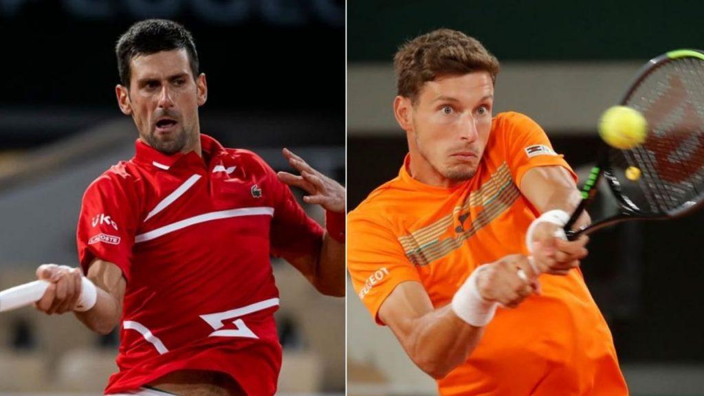 Novak Djokovic Pablo Carreno Busta - FirstSportz
