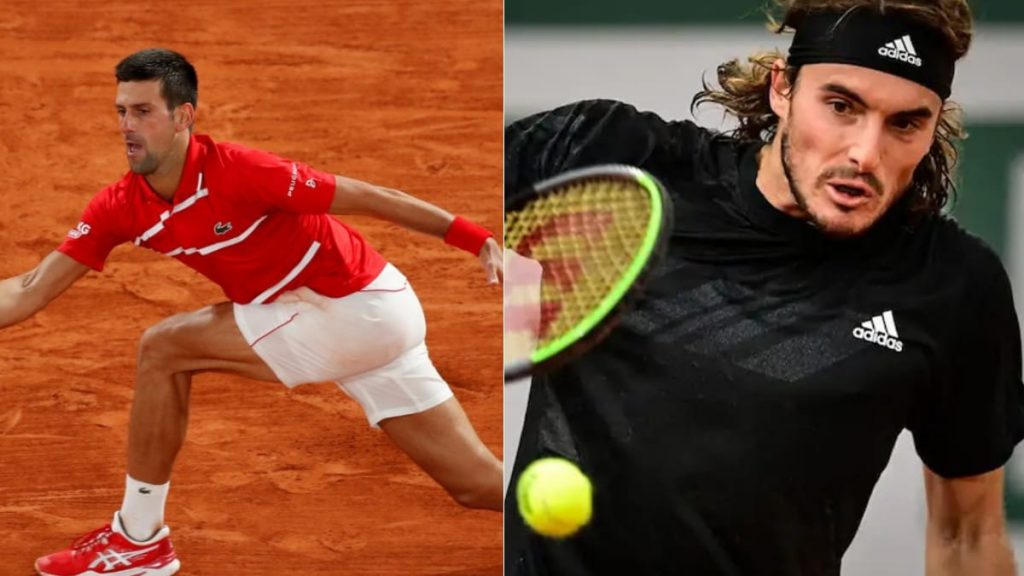 Novak Djokovic Stefanos Tsitsipas - FirstSportz