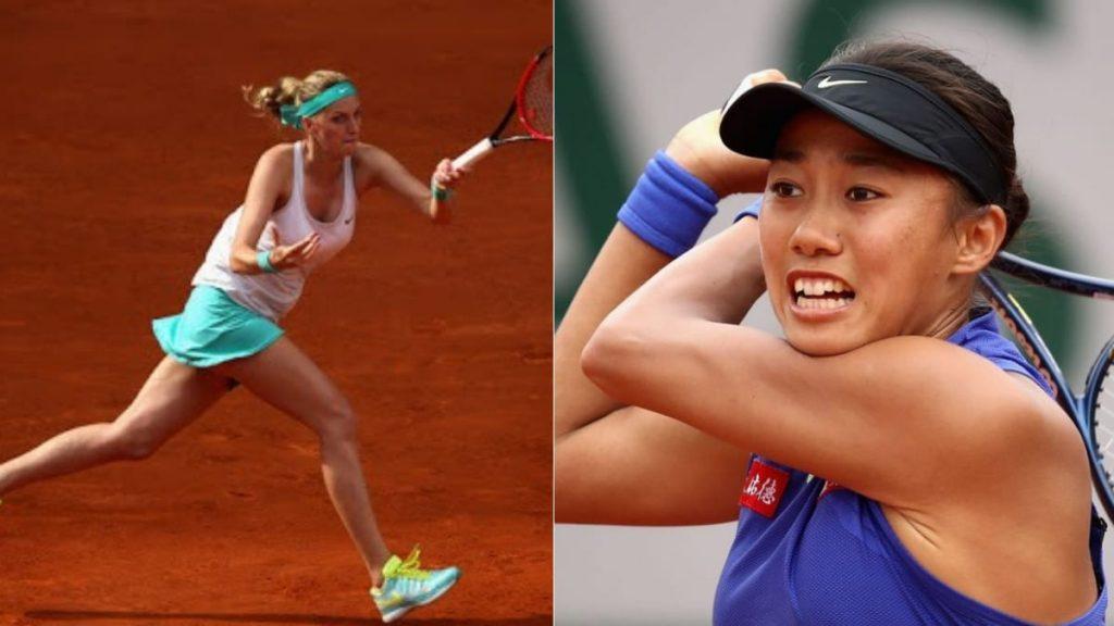 Petra Kvitova Shuai Zhang - FirstSportz