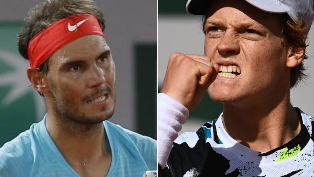 Rafael Nadal Jannik Sinner - FirstSportz