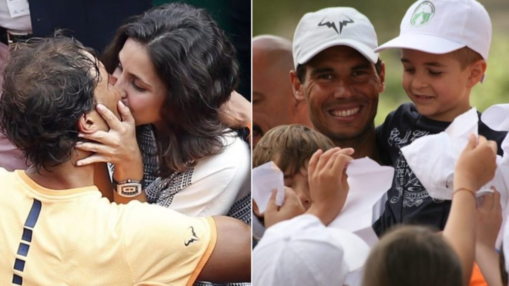 Wedding Rafael Nadal Wife And Kids Guests At The Wedding Of Rafael Nadal And Maria Francisca Perello At La Fortaleza In Puerto Pollensa Have Been Asked Not To Carry Their Phones