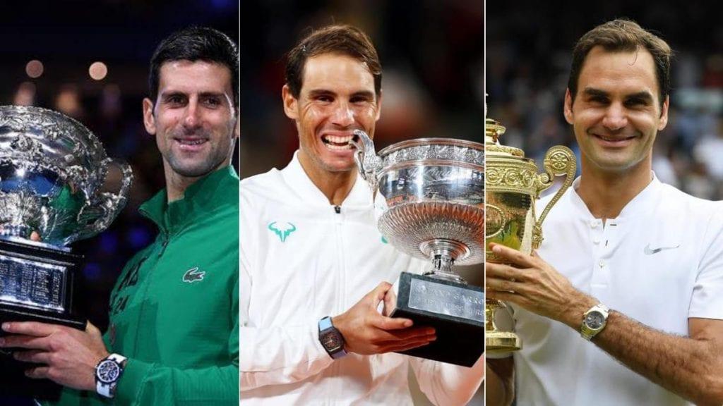 Roger Federer Rafael Nadal Novak Djokovic - FirstSportz
