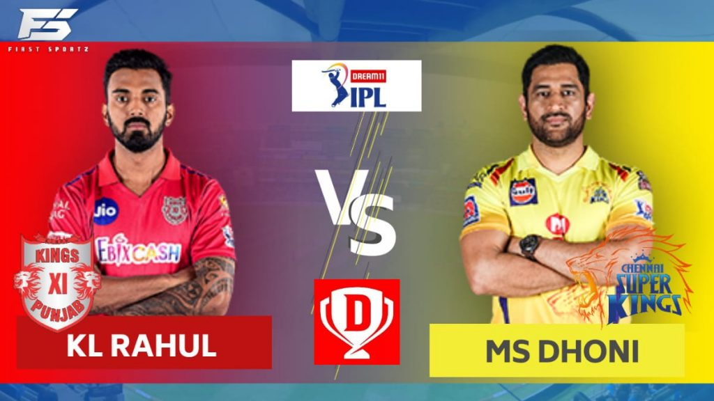 KXIP vs CSK Dream11