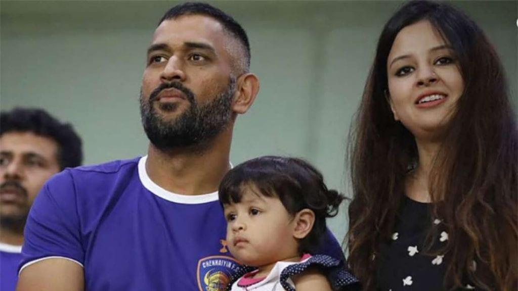 ms dhoni family