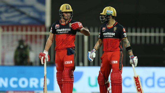 AB de Villiers and Virat Kohli MI vs RCB