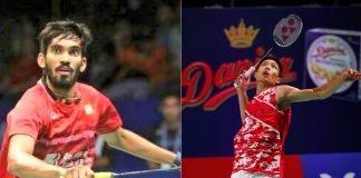 Srikanth Kidambi Chou Tien Chen Denmark Open