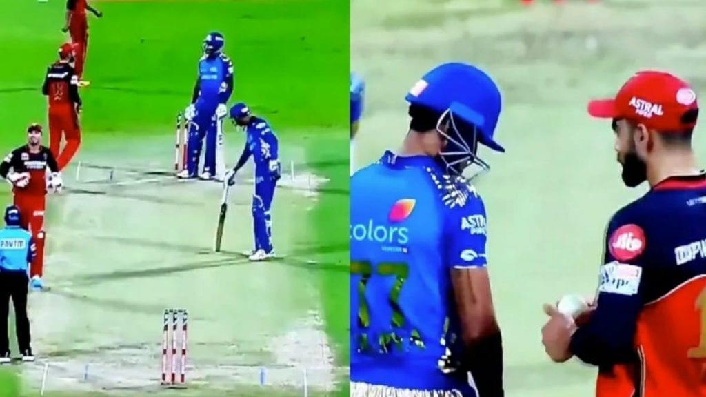 MI vs RCB: Suryakumar Yadav keeps calm against Kohli's sledging