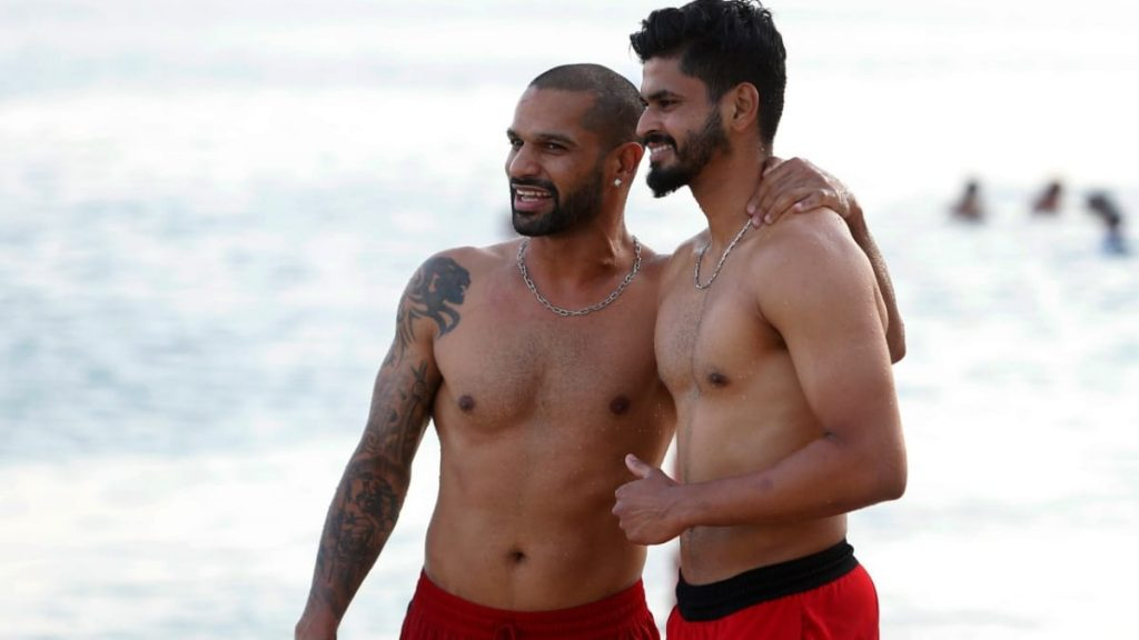 dhawan and iyer - FirstSportz