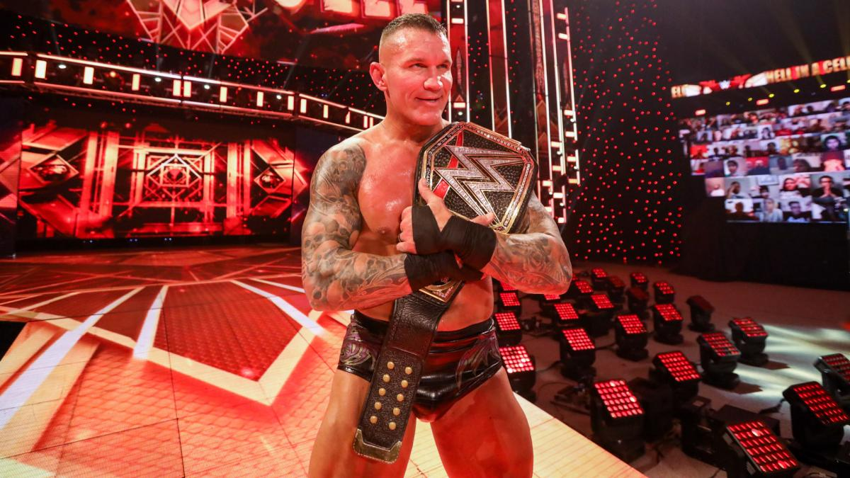 Hell in a Cell 2020 results - 14-time WWE World Champion Randy Orton »  FirstSportz
