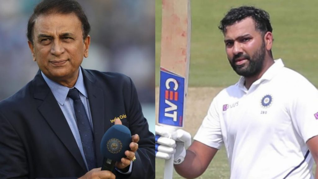 Sunil Gavaskar and Rohit Sharma