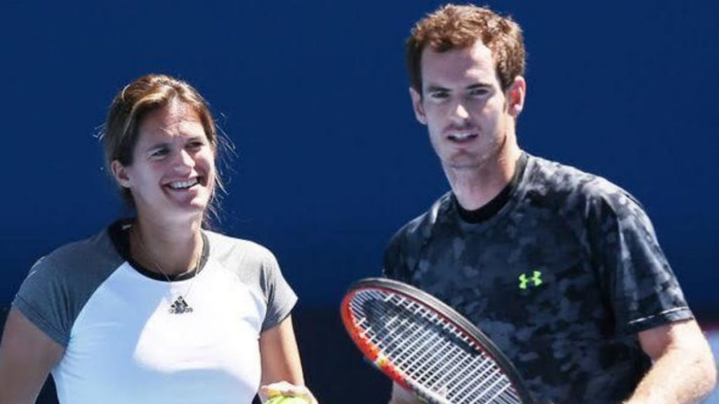 Amelie Mauresmo Andy Murray - FirstSportz