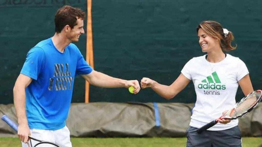 Andy Murray Amelie Mauresmo - FirstSportz