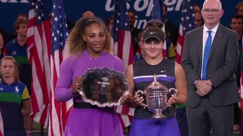 Bianca Andreescu Serena Williams - FirstSportz