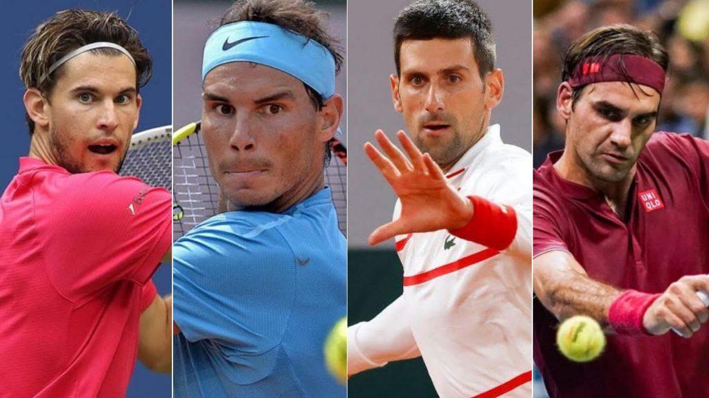 Dominic Thiem Dominic Thiem Rafael Nadal Novak Djokovic Roger Federer - FirstSportz