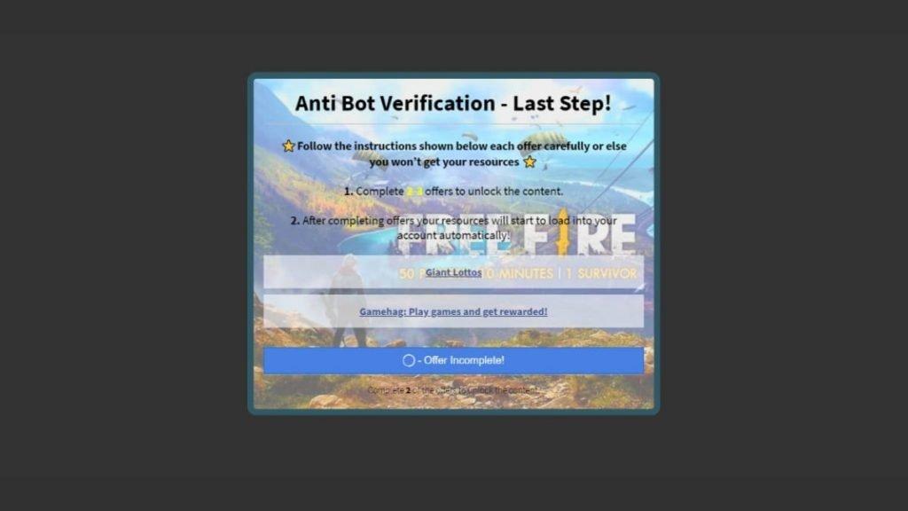 Free Fire Human - FirstSportz