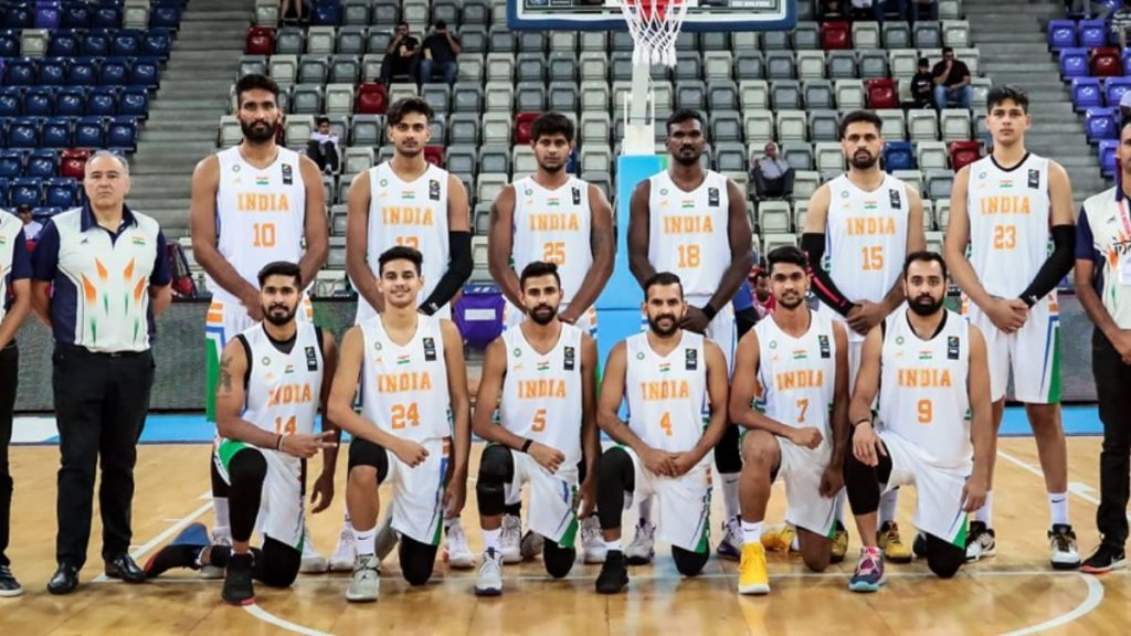Indian Basketball Team at FIBA Asia Cup 2020 qualifiers