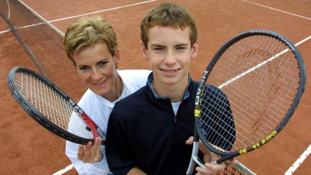 Judy Murray Andy Murray - FirstSportz