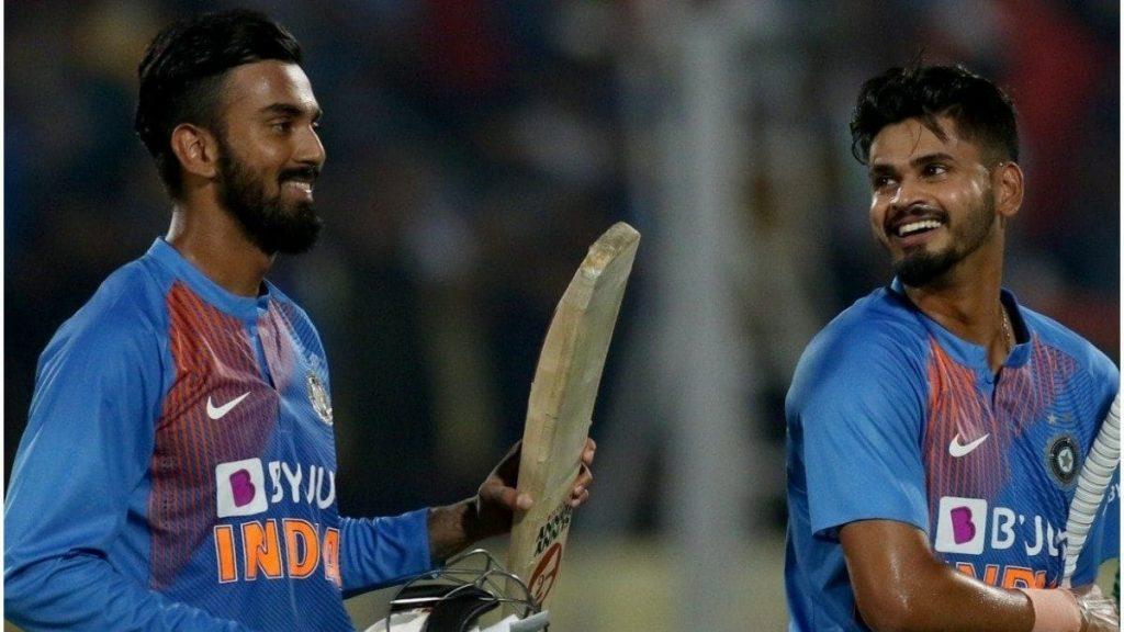 KL Rahul and Shreyas Iyer