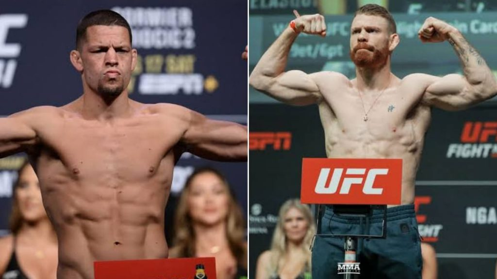 """You give me a Nate Diaz"""" Paul Felder is excited to face Nate in a potential matchup » FirstSportz"""