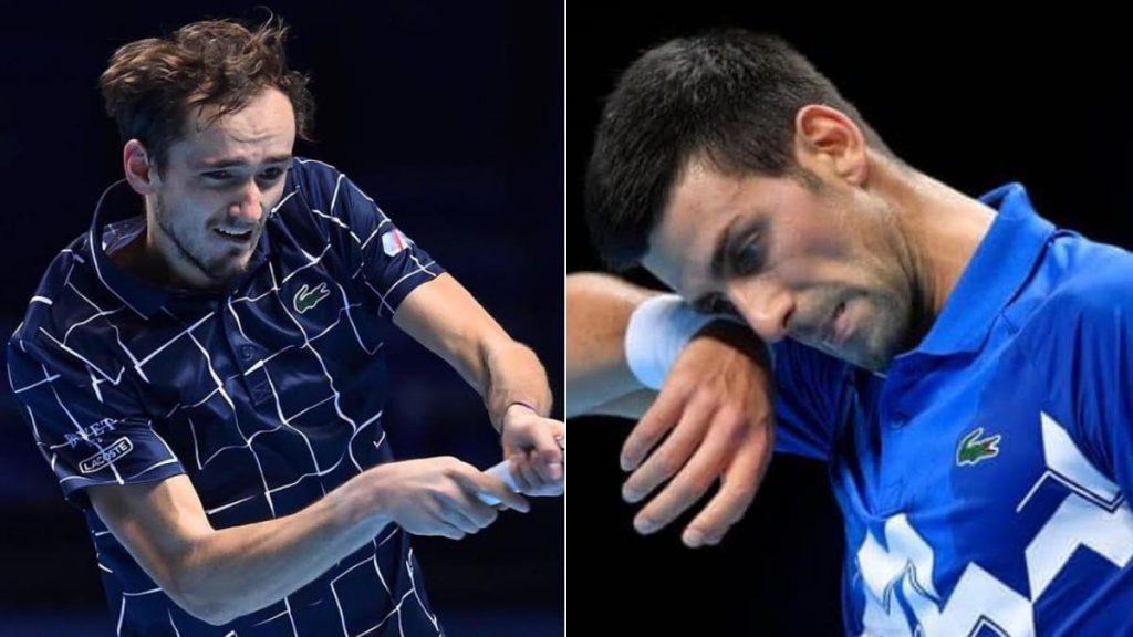 Novak Djokovic Daniil Medvedev 2 - FirstSportz