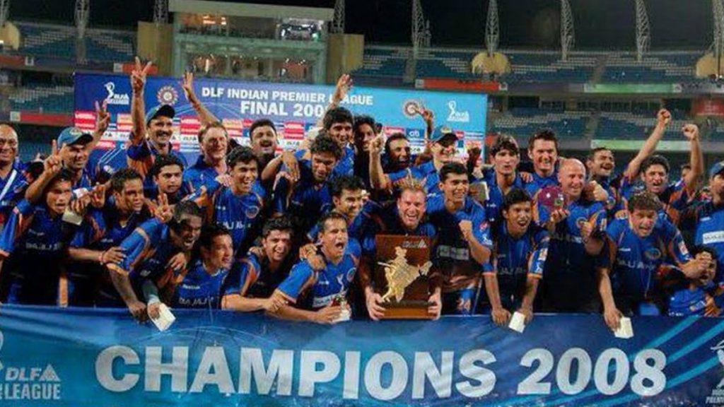Rajasthan Royals 2008 - FirstSportz
