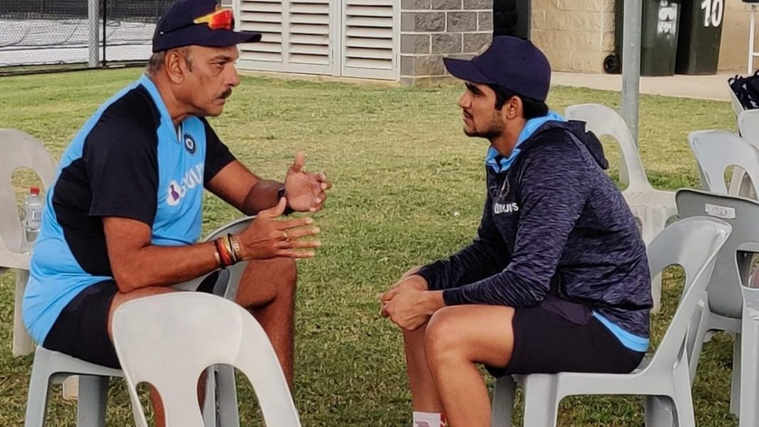 Ravi Shastri in conversation with Shubman Gill