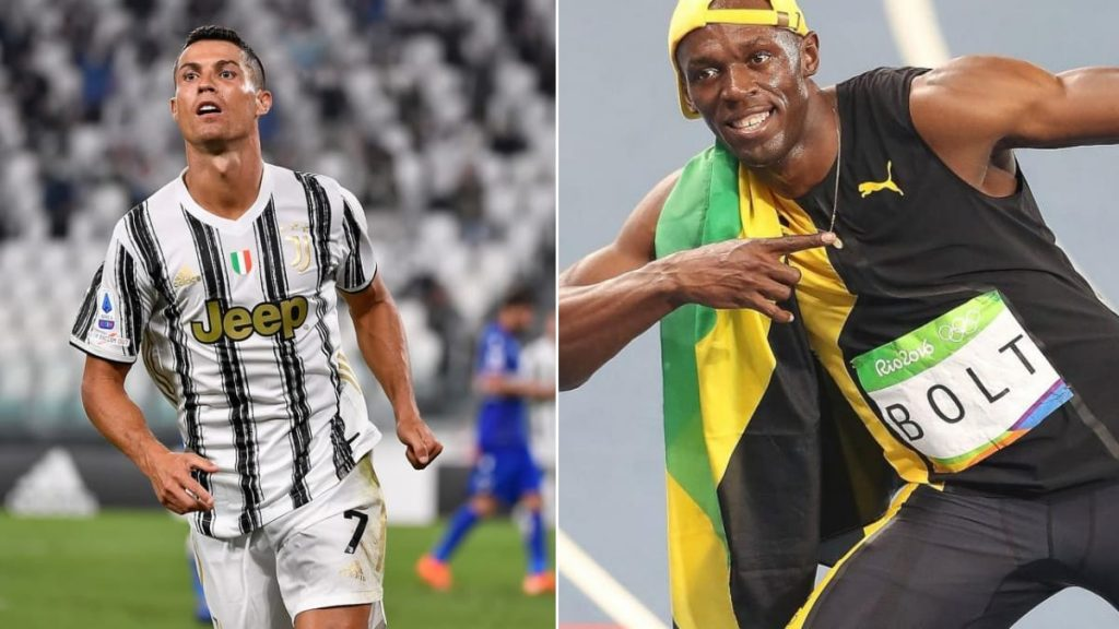 'Cristiano Ronaldo is faster than me!' - Usain Bolt Says - Tatahfonewsarena