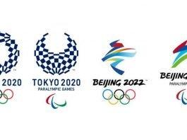 Tokyo 2020 and Beijing 2022 logos