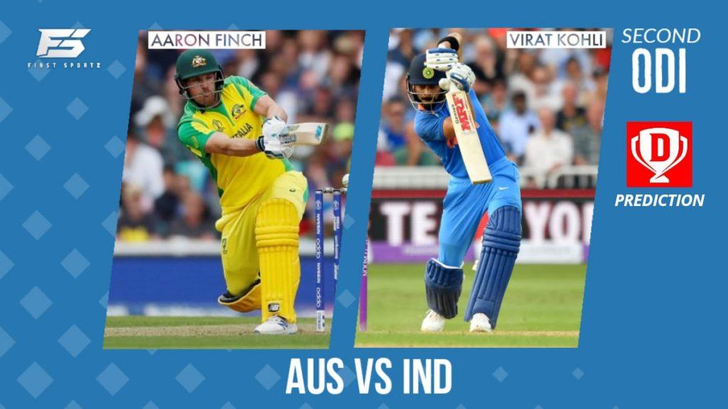 Australia vs India 2nd odi dream11