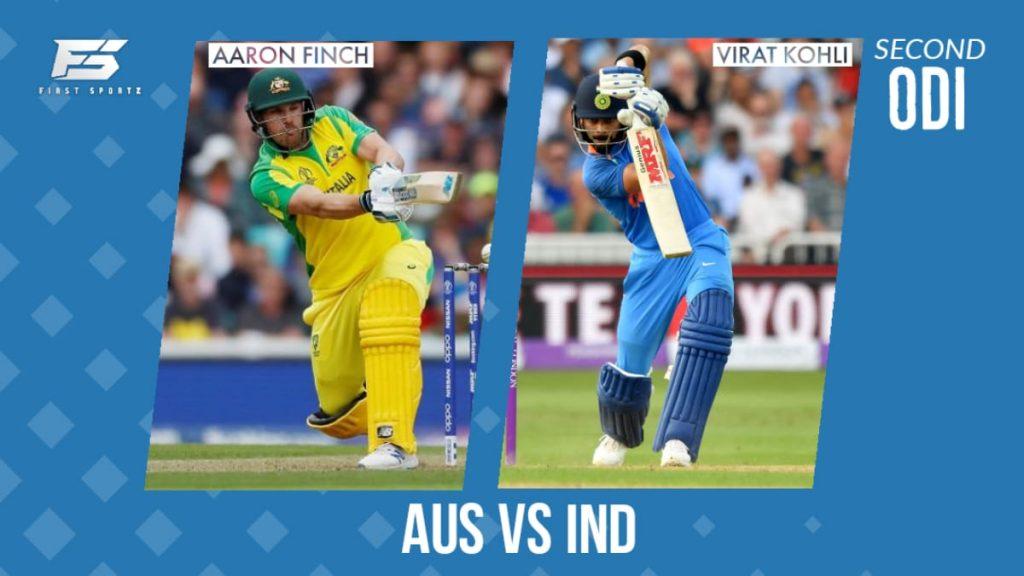 Australia vs India 2nd odi