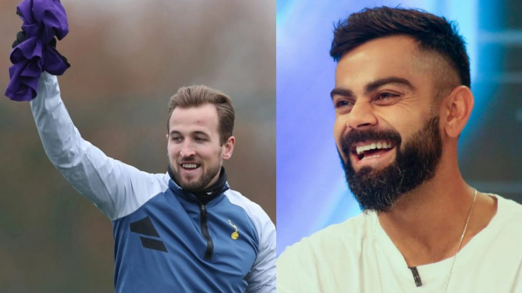 Virat Kohli and Harry Kane