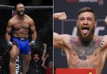 Tyron Woodley and Conor McGregor
