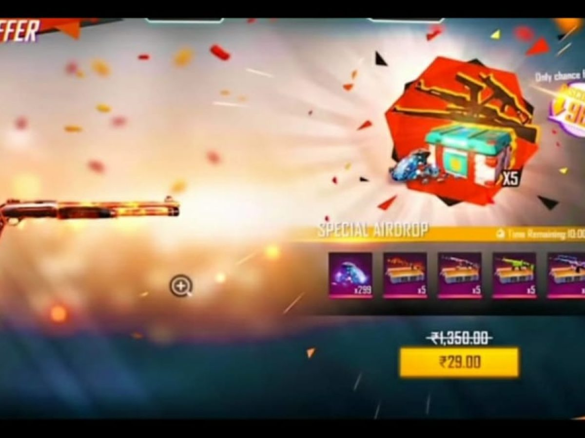 Garena Free Fire How To Get 10 Rupees Airdrop Firstsportz