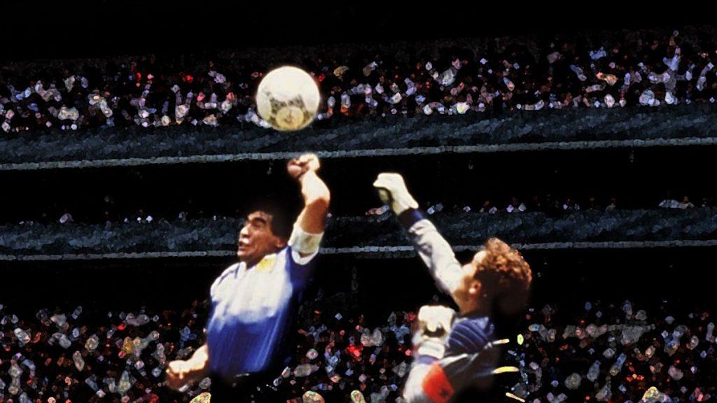 maradona hand of god england argentina graphic mexico world cup 3487843 - FirstSportz