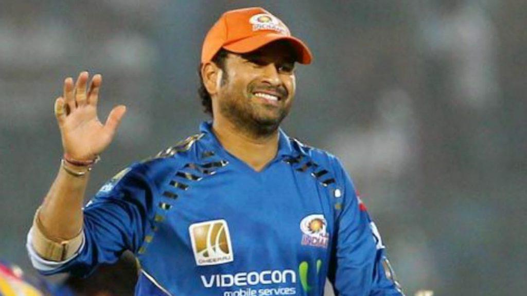 Sachin Tendulkar with Orange Cap
