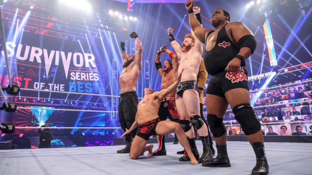 wwe survivor series team raw - FirstSportz