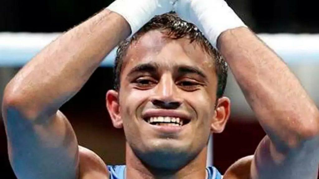 Amit Panghal ranked number 1 at Tokyo Olympics