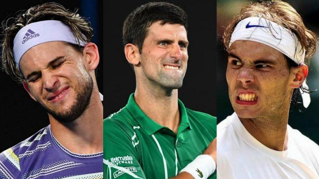 Dominic Thiem Novak Djokovic Rafael Nadal - FirstSportz