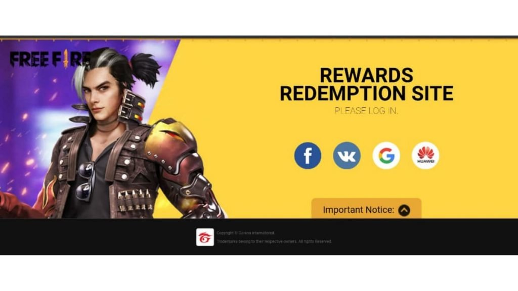Free Fire Redeem Code For 22nd December Na Region Winterlands M1014 Weapon Loot Crate Firstsportz