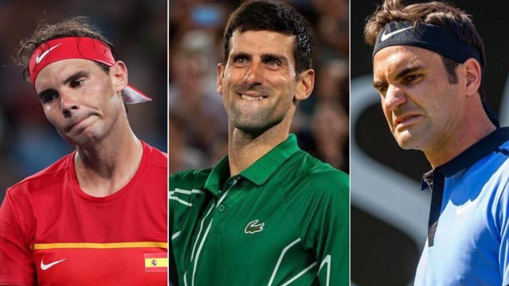 Rafael Nadal Novak Djokovic Roger Federer - FirstSportz