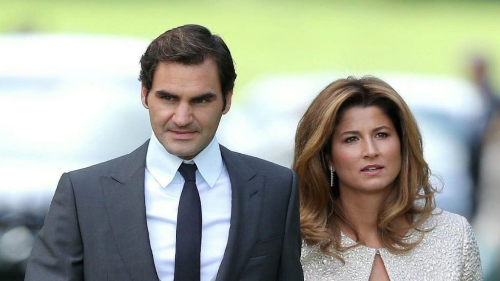 Roger Federer wife Mirka - FirstSportz