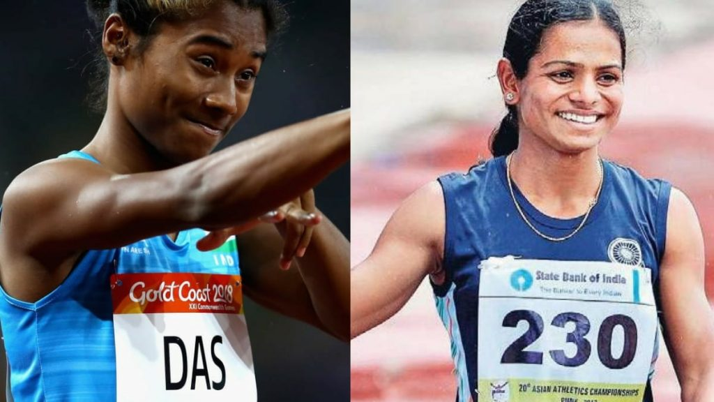 Hima Das, Dutee Chand will be featuring in the Indian Grand Prix 4