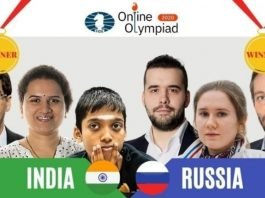 Chess Olympiad winners