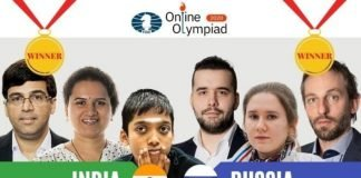 Chess Olympiad winners