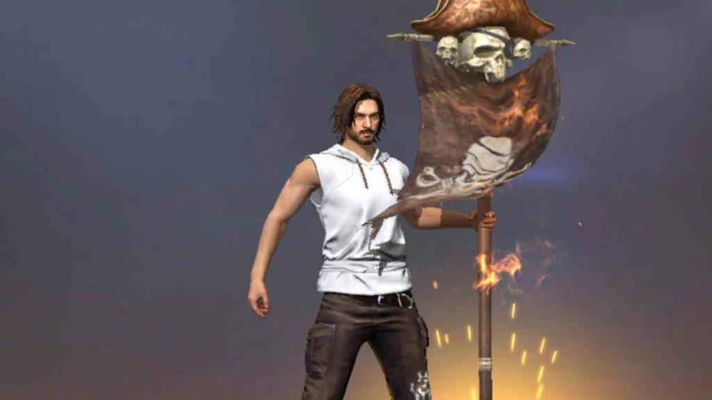 Pirate's Flag Emote in Free Fire
