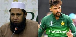 Inzamam-ul-Haq and Mohammad Amir