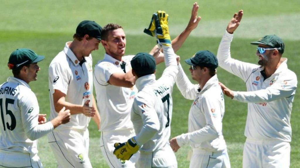 Australia test team