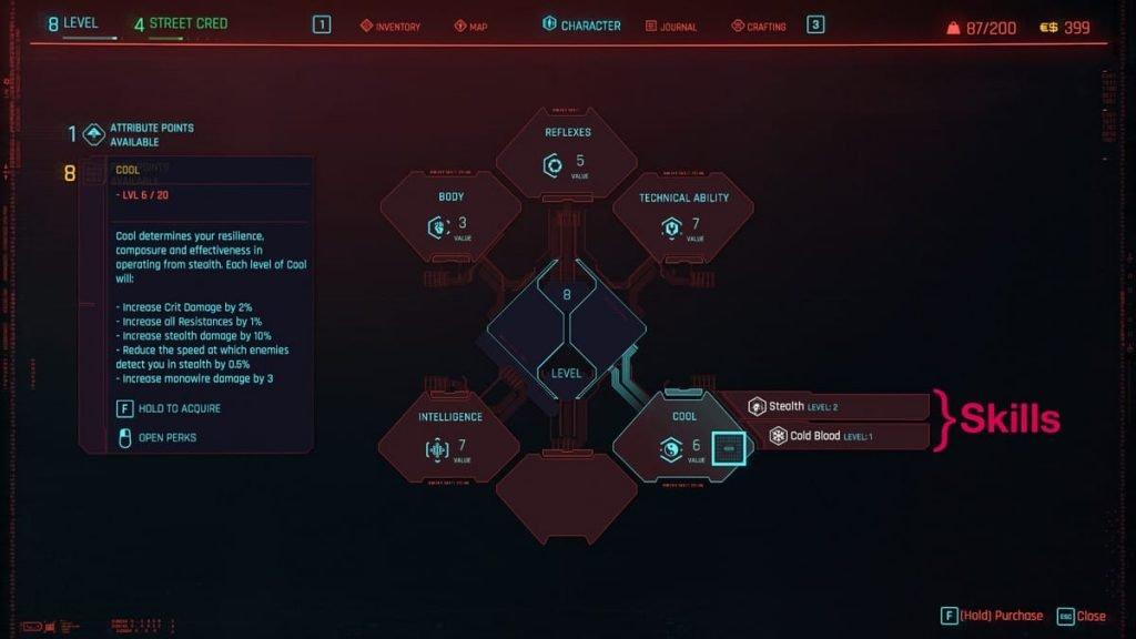 cyberpunk attributes 2 - FirstSportz