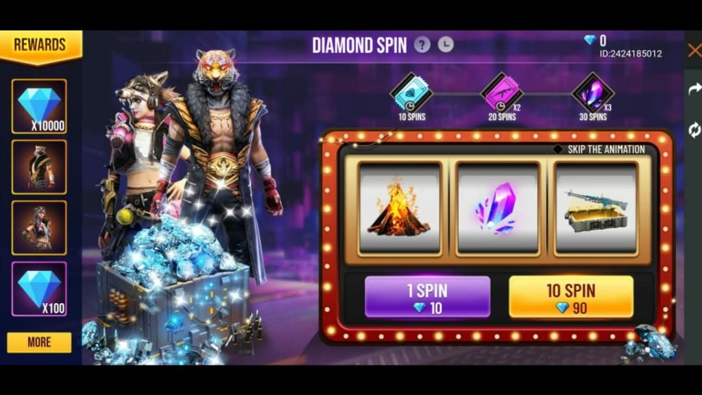 Here Is The Trick To Win 10000 Diamonds In Garena Free Fire Firstsportz