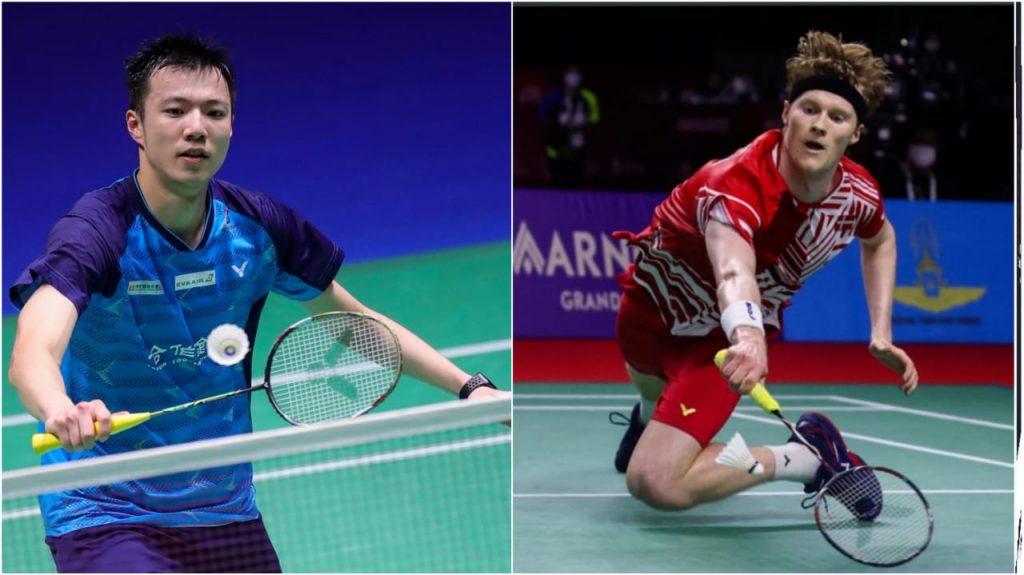 Wang Tzu Wei vs Anders Antonsen